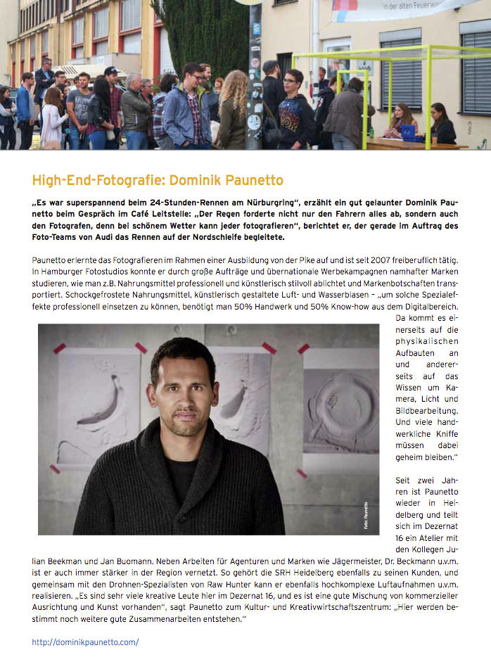 Interview Dominik Paunetto